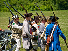 Battle of Monmouth Reenactment
